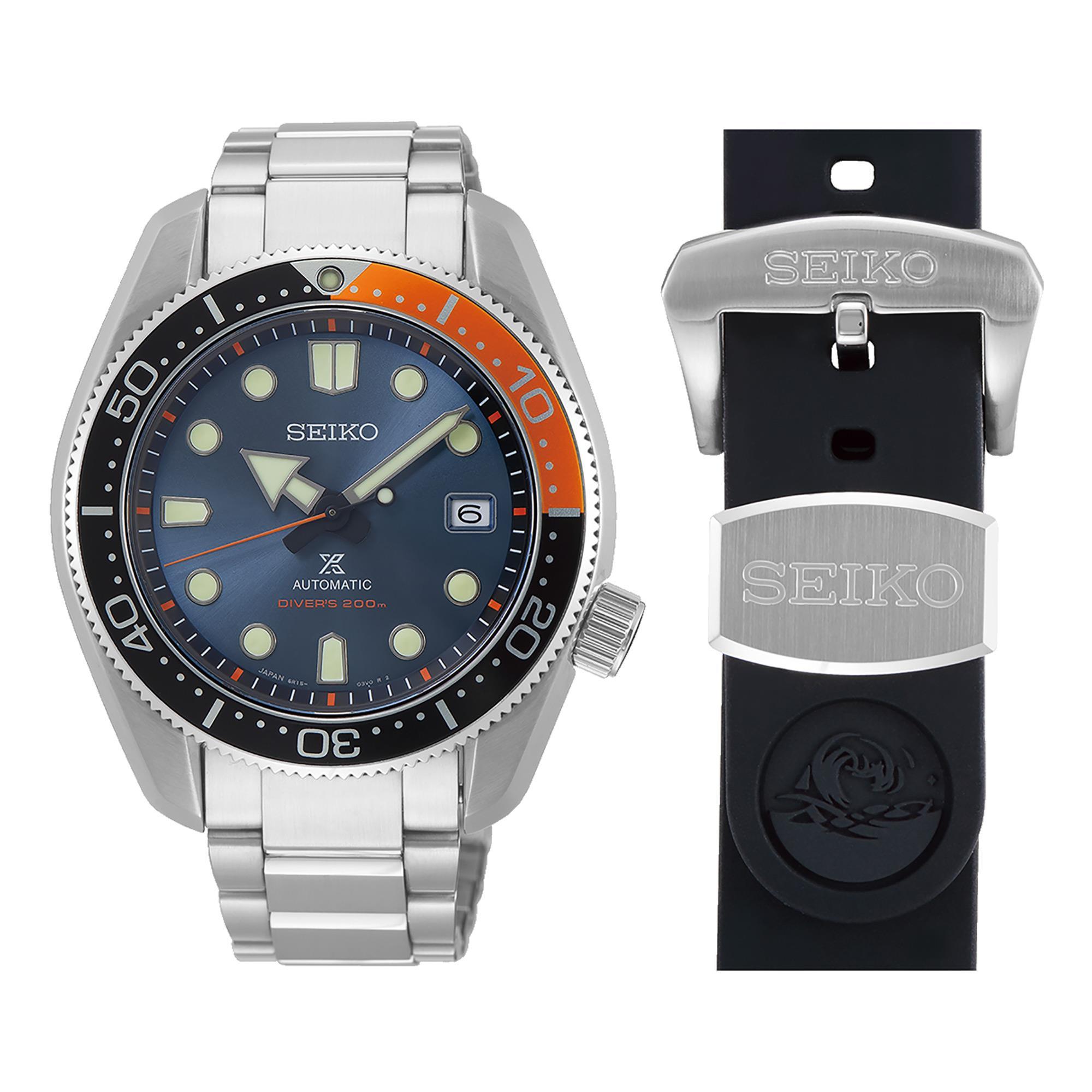 Orologio Prospex Diver's Automatico Uomo Acciaio - SEIKO