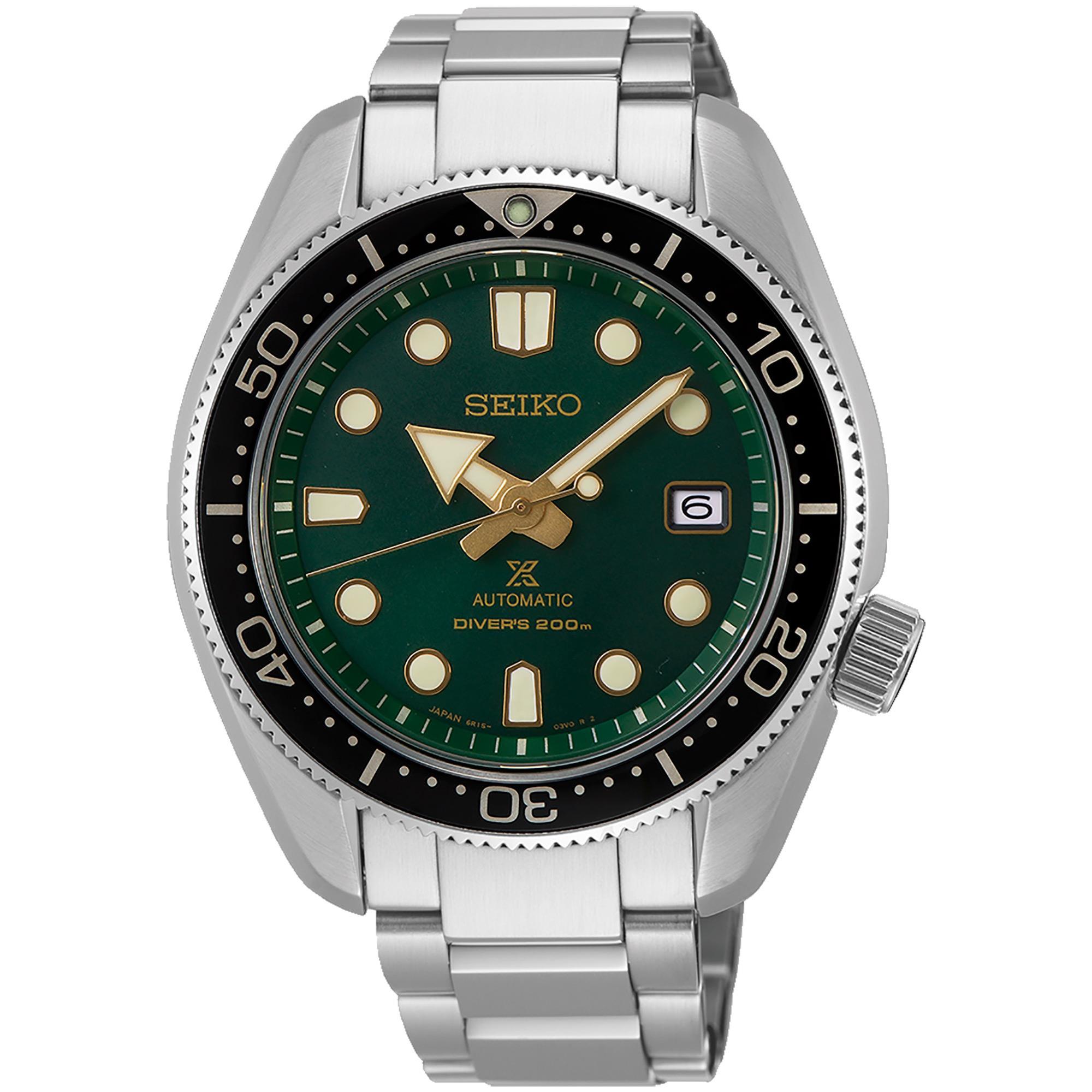 Orologio Prospex Diver's Automatico Acciaio Uomo Verde - SEIKO