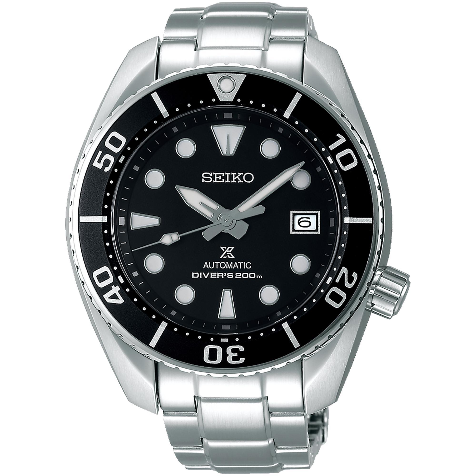 Orologio Prospex Diver's Automatico Acciaio Uomo Nero - SEIKO