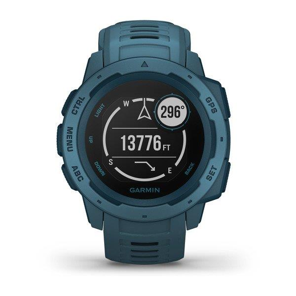 GARMIN INSTINCT, GPS WATCH, LAKESIDE BLUE - GARMIN
