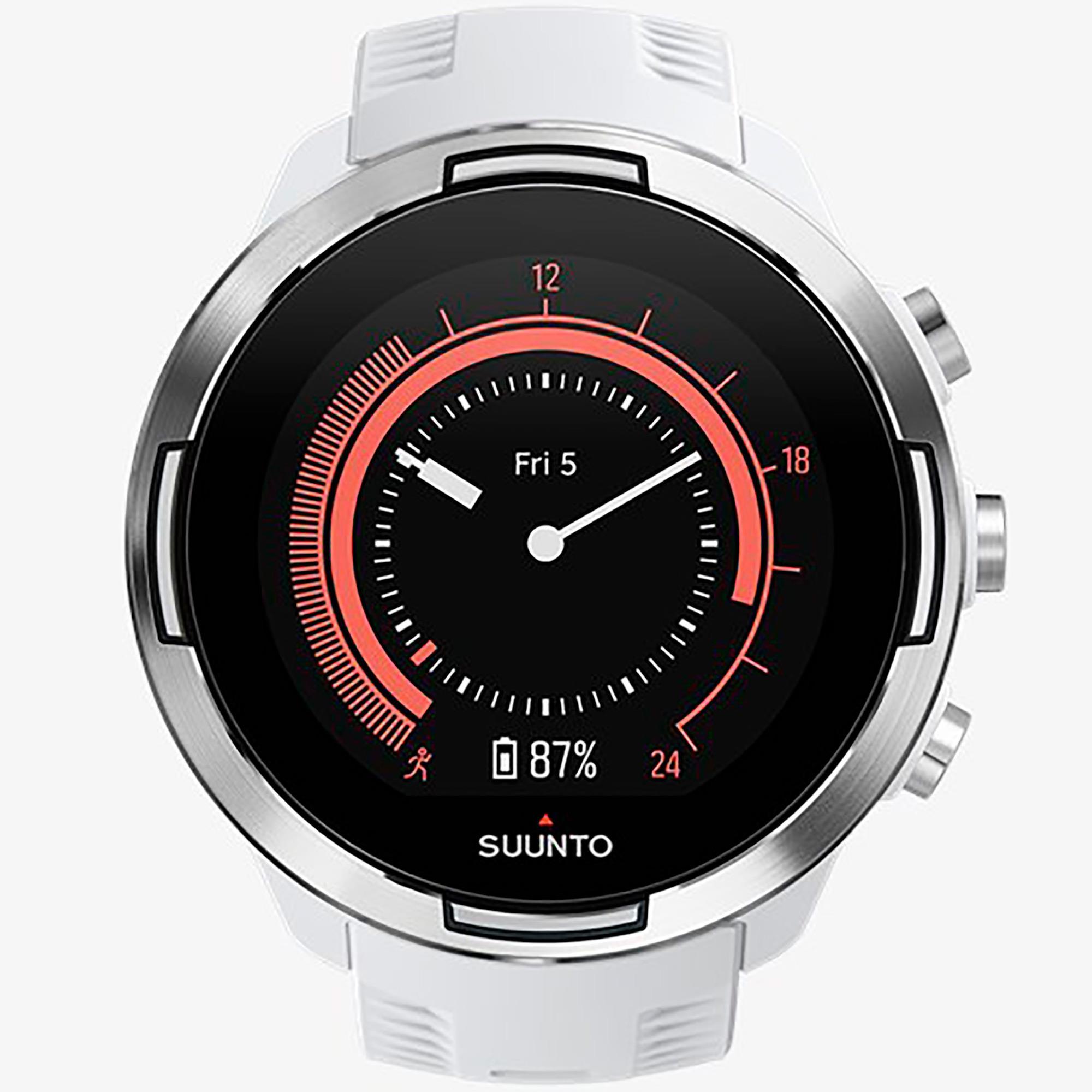 Smartwatch Suunto 9 Baro White Orologio Sport Uomo - SUUNTO