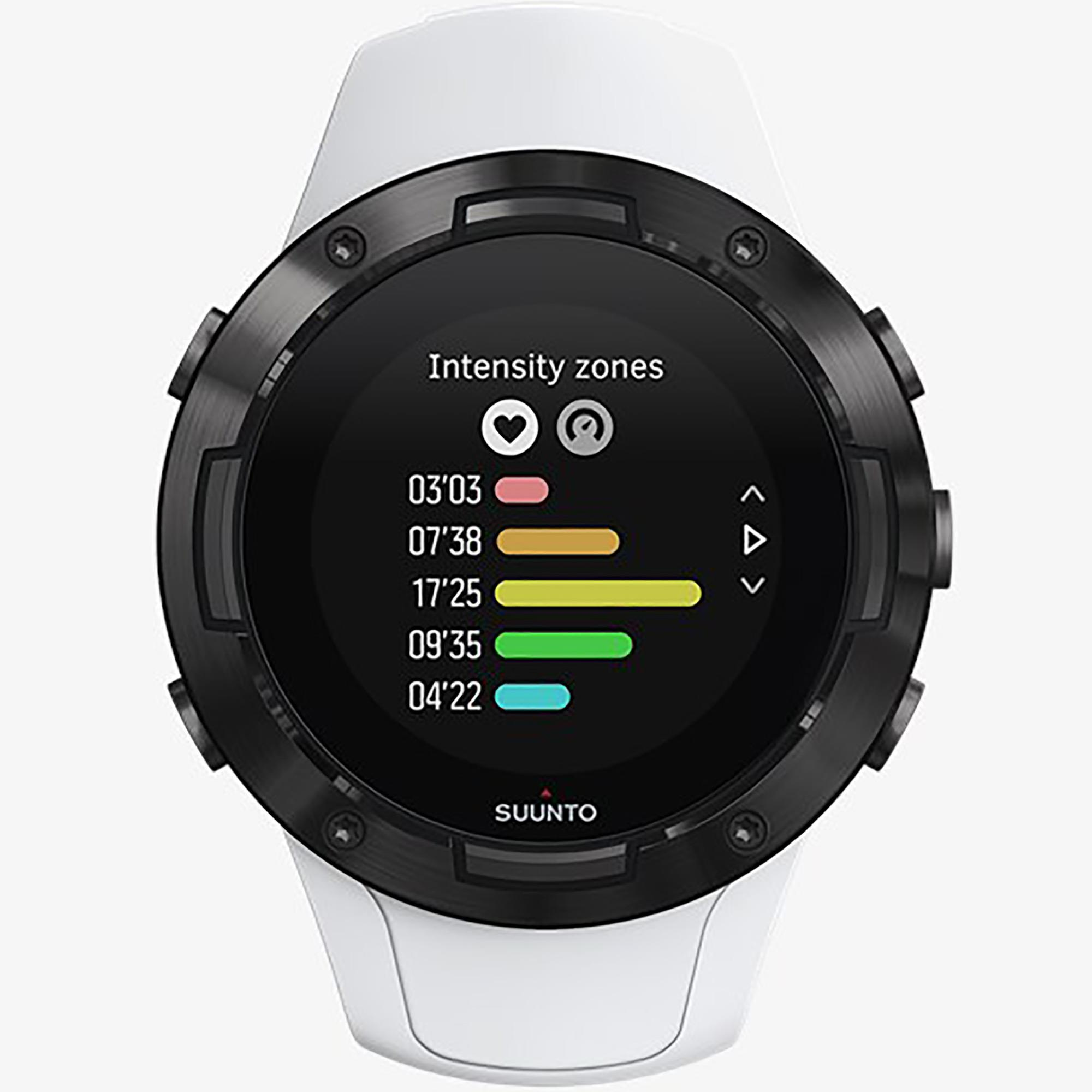 Smartwatch Suunto 5 White Black Orologio Sport Unisex Bianco - SUUNTO