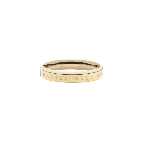 Anello Classic Ring Gold Unisex 54 DW00400079 - DANIEL WELLINGTON