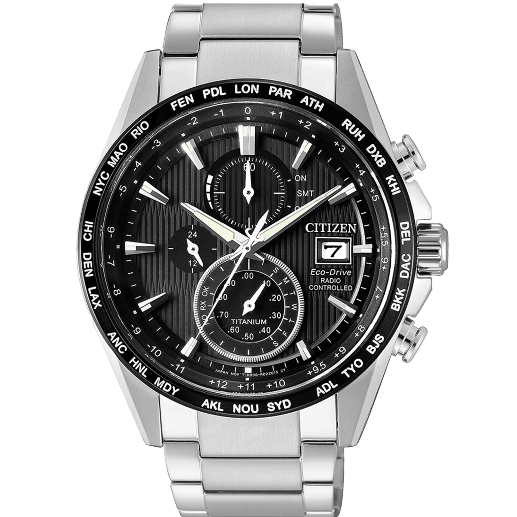 Cronografo H800 Titanio Radiocontrollato - CITIZEN