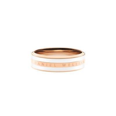 Anello Classic Ring Satin White Rose 54 Unisex DW00400042 - DANIEL WELLINGTON
