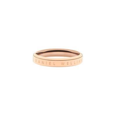 Anello Classic Ring 52 RG Oro Rosa Unisex DW00400017 - DANIEL WELLINGTON