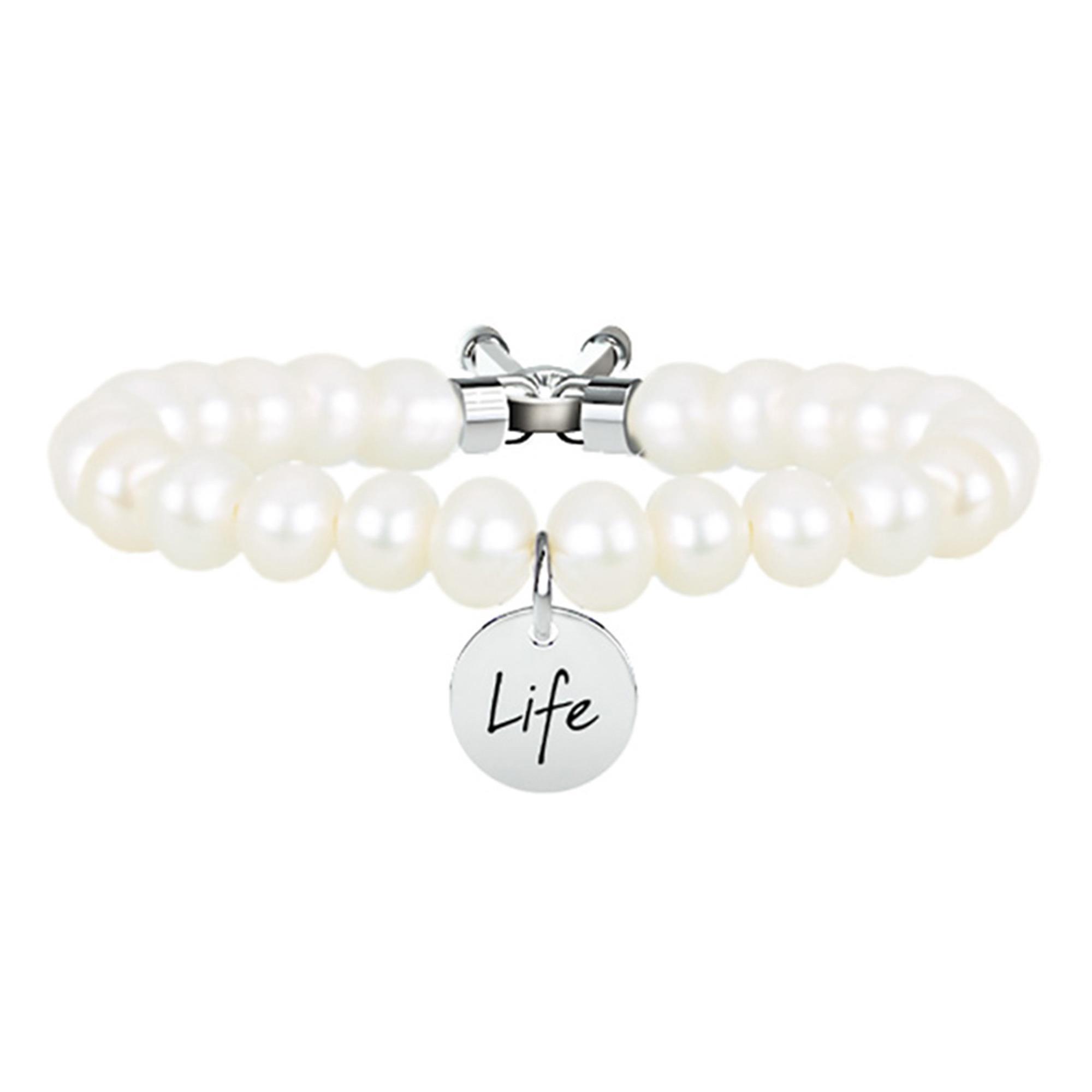 Bracciale Symbols Perle Bianche | Bellezza - KIDULT