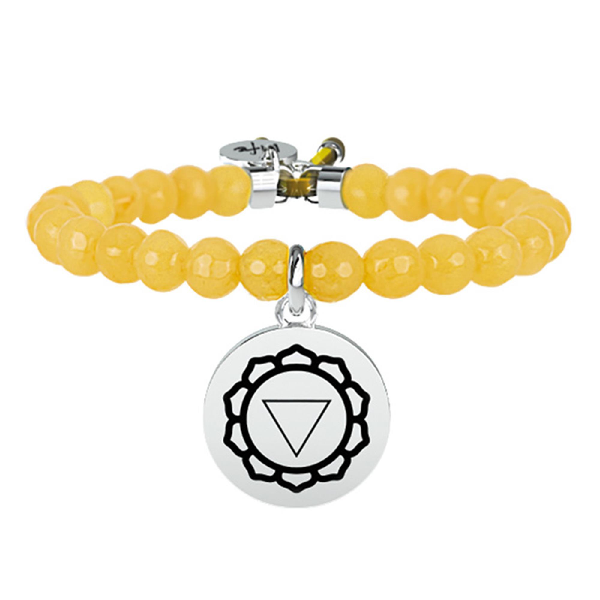 Bracciale Spirituality III Chakra Giada Giallo - KIDULT