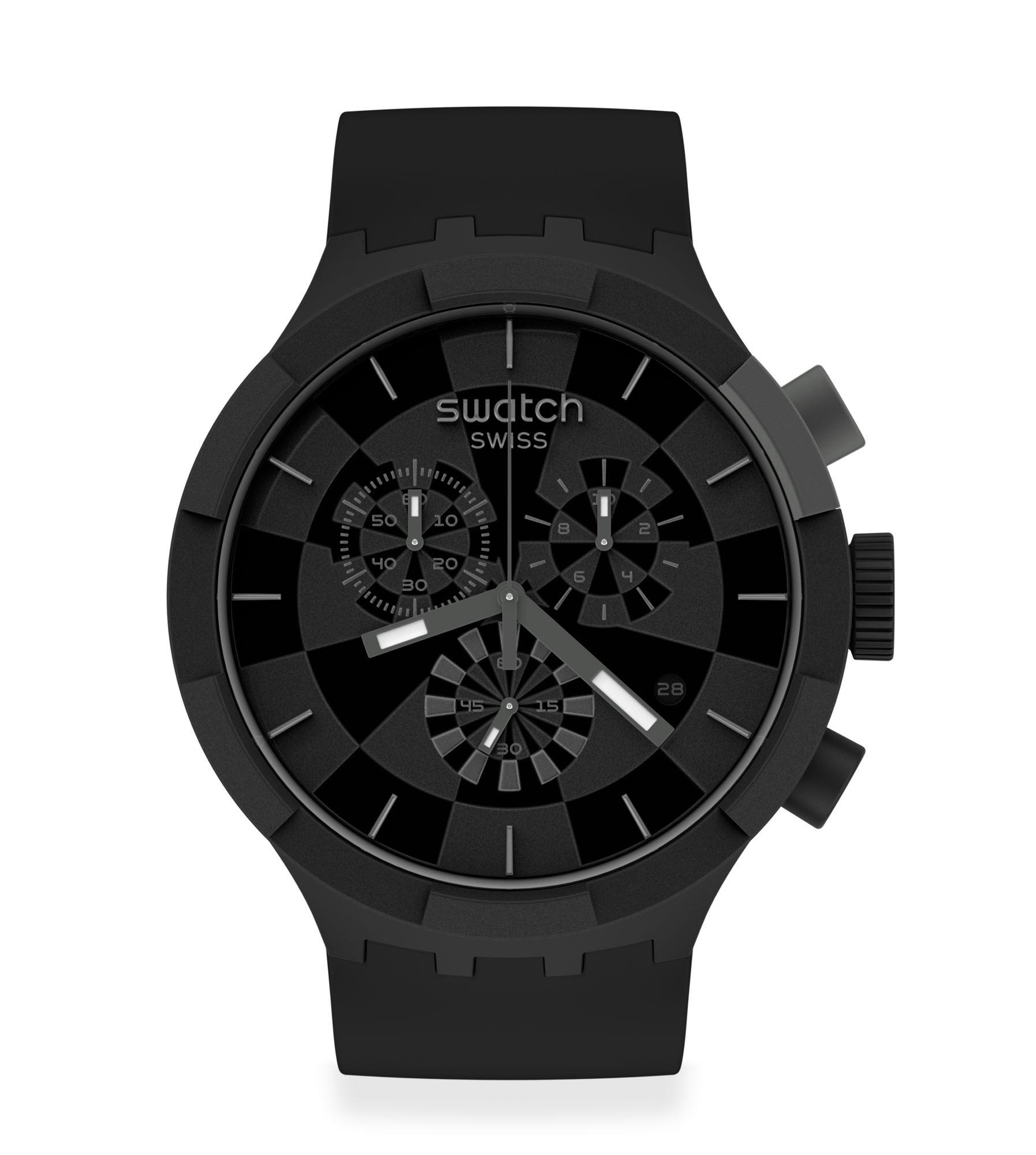 Orologio Swatch Checkpoint Black - SWATCH