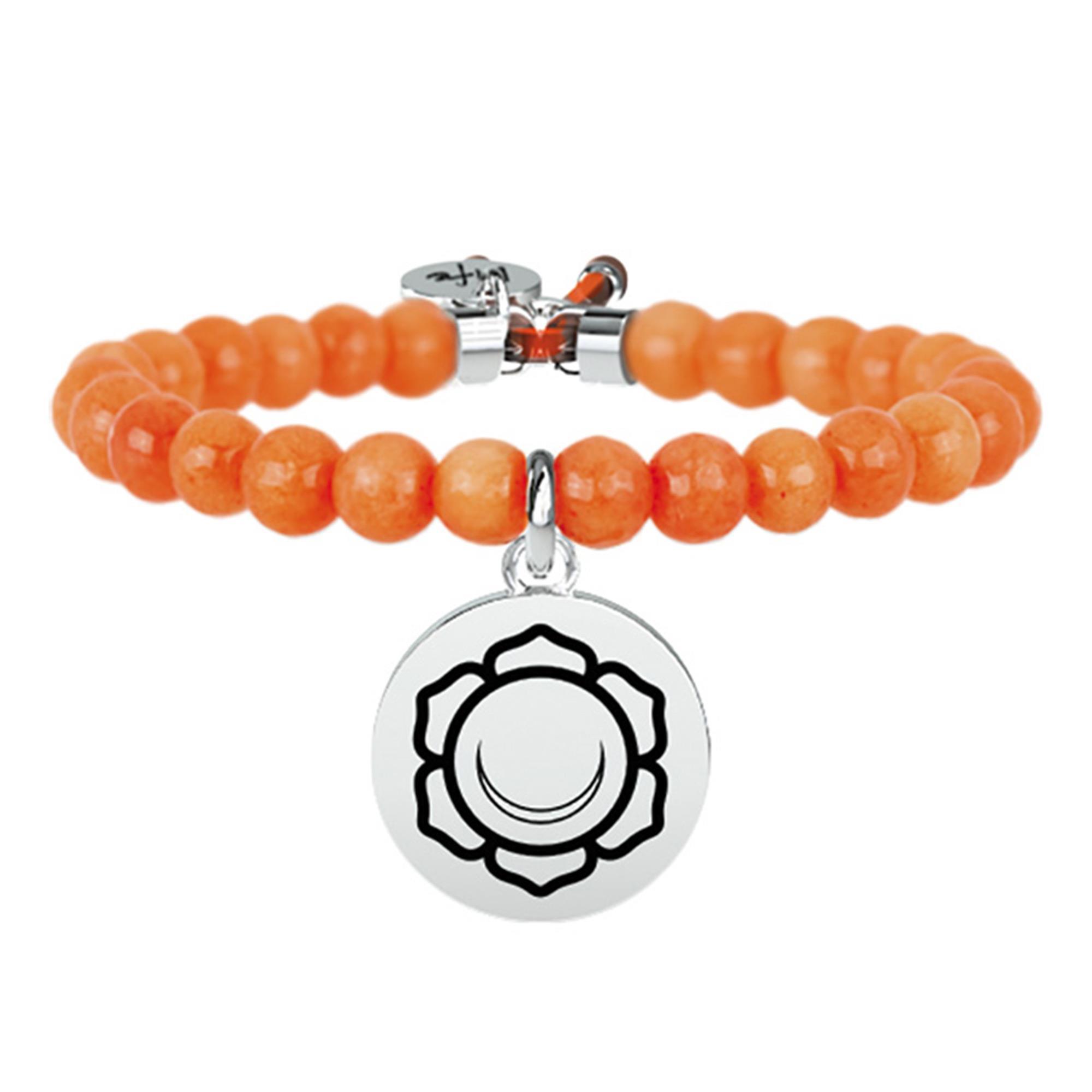 Bracciale Spirituality II Chakra Giada Arancione | Gioia - KIDULT