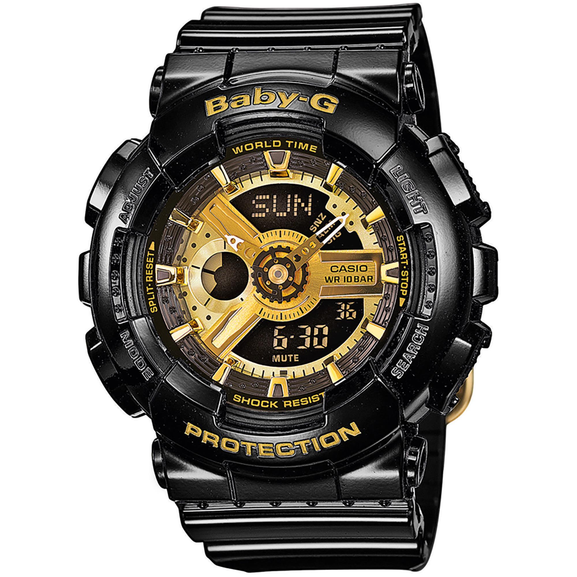 G-Shock Baby G Nero Anadigit Donna Gomma BA-110-1AER - CASIO