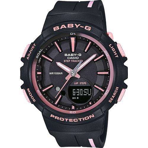 Orologio Casio Baby-G Gomma Nero/Ro0sa BGS-100RT-1AER - CASIO
