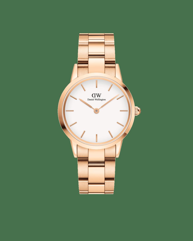 Orologio Iconic Link Acciaio Oro Rosa Donna 32mm DW00100211 - DANIEL WELLINGTON