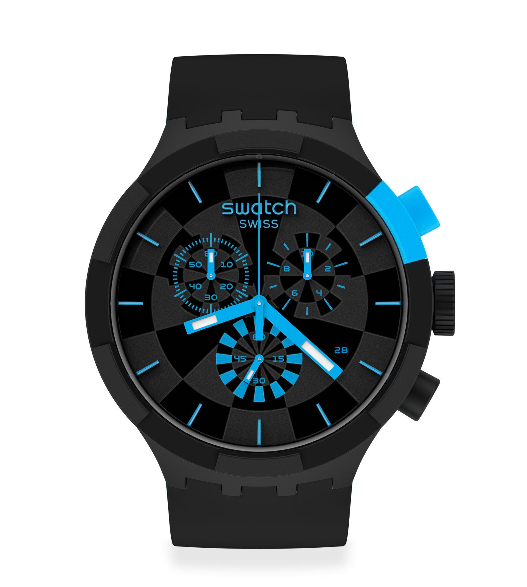 Orologio Swatch Checkpoint Blue - SWATCH