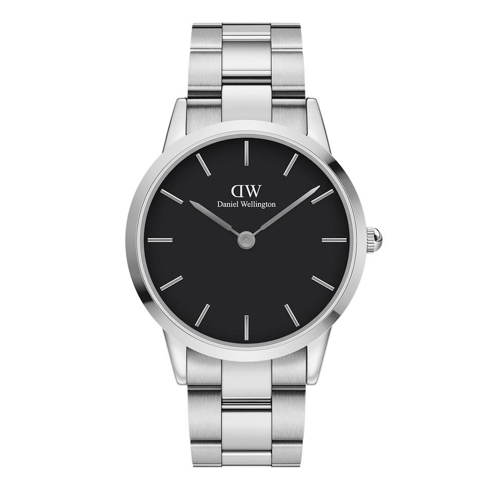 Orologio Iconic Link 40mm S Black Unisex Acciaio DW00100342 - DANIEL WELLINGTON
