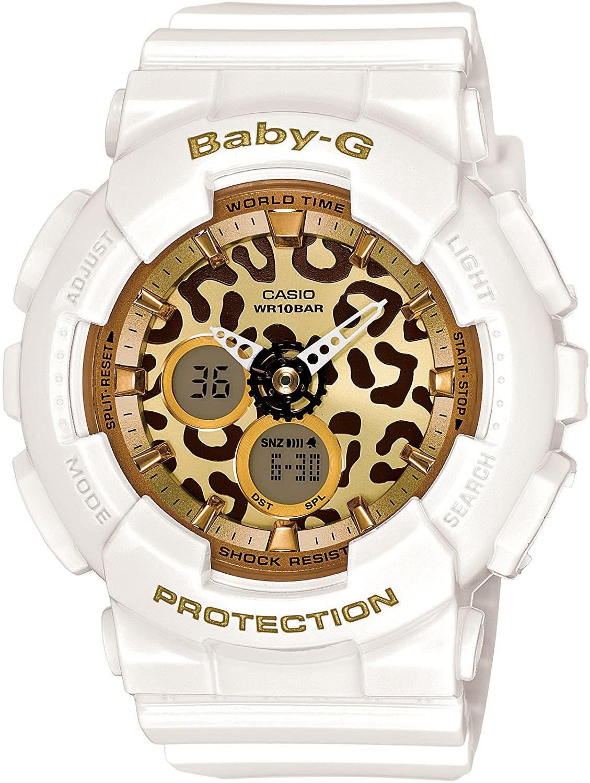Baby-G Leopard Alarm Cronografo Anadigit BA-120LP-7A2ER - CASIO