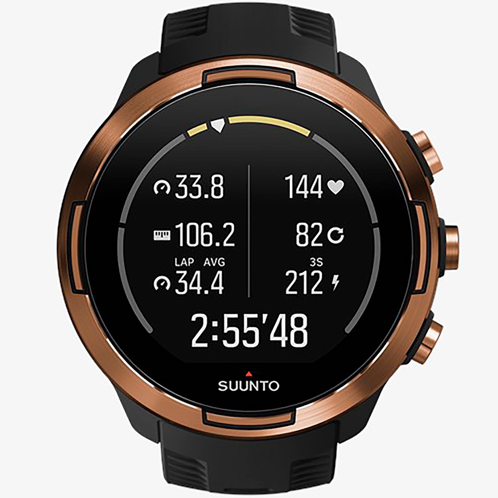 Smartwatch Suunto 9 Baro Copper Orologio Sport Uomo - SUUNTO