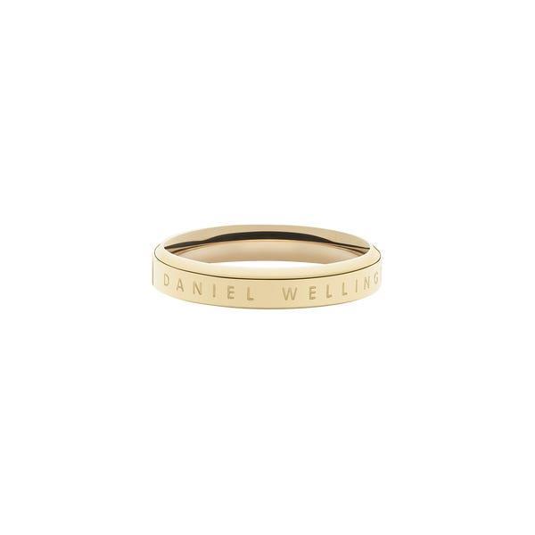 Anello Classic Ring Gold Unisex 52 DW00400078 - DANIEL WELLINGTON