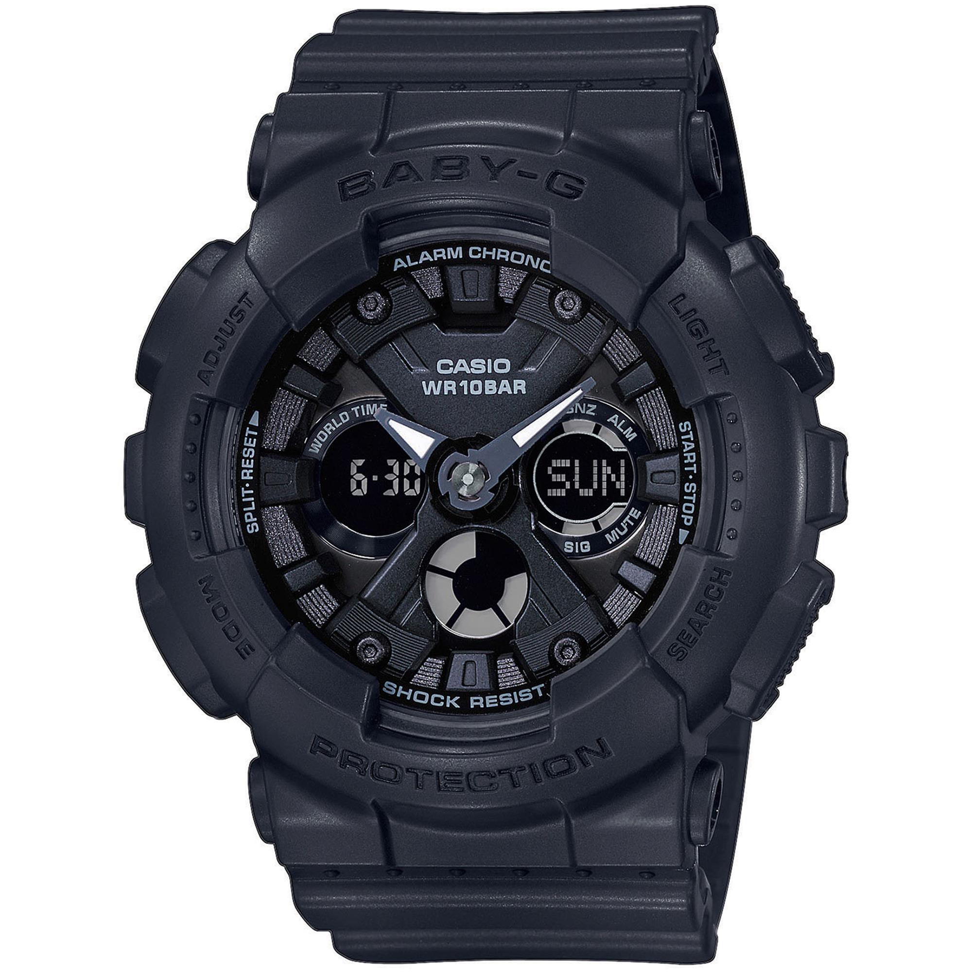 G-Shock Baby G Nero Anadigit Donna Gomma BA-130-1AER - CASIO