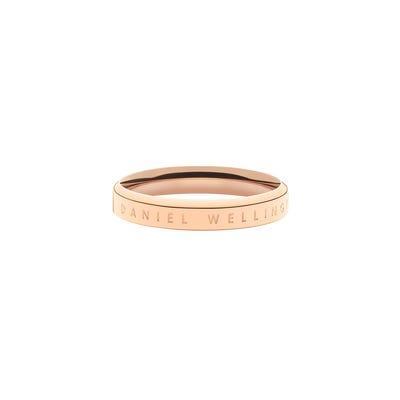 Anello Classic Ring 54 RG Oro Rosa Unisex DW00400018 - DANIEL WELLINGTON