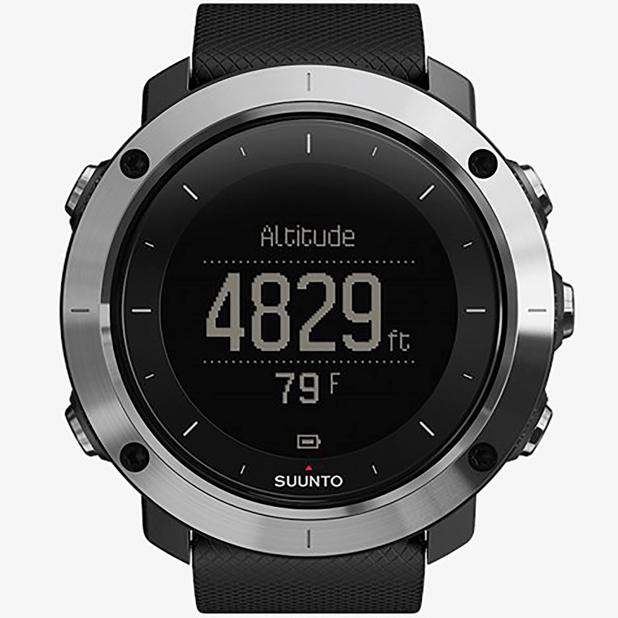 Smartwatch Suunto Traverse Black Orologio Trekking Unisex Nero - SUUNTO