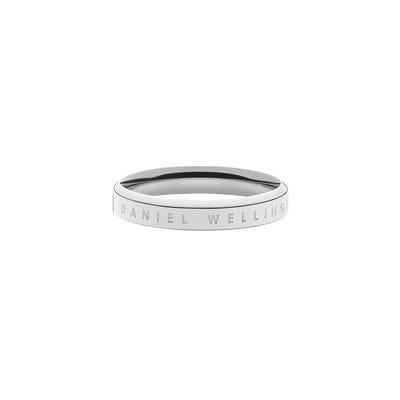 Anello Classic Ring 54 SS Argento Unisex DW00400030 - DANIEL WELLINGTON