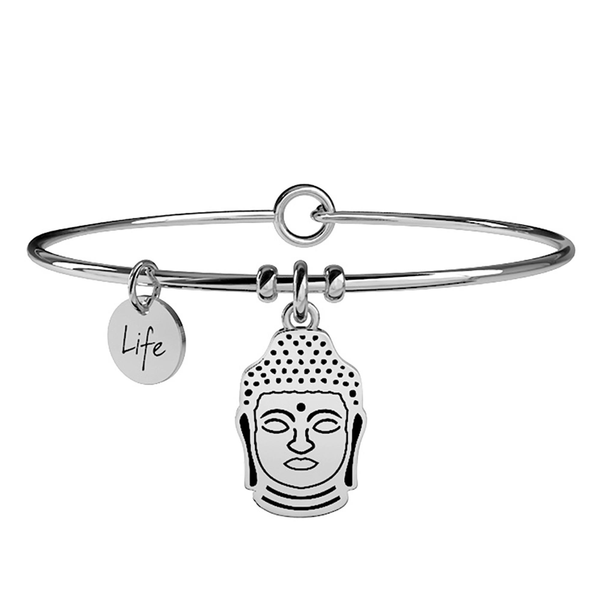 Bracciale Buddha Spirituality Saggezza Acciaio Donna 231549 - KIDULT
