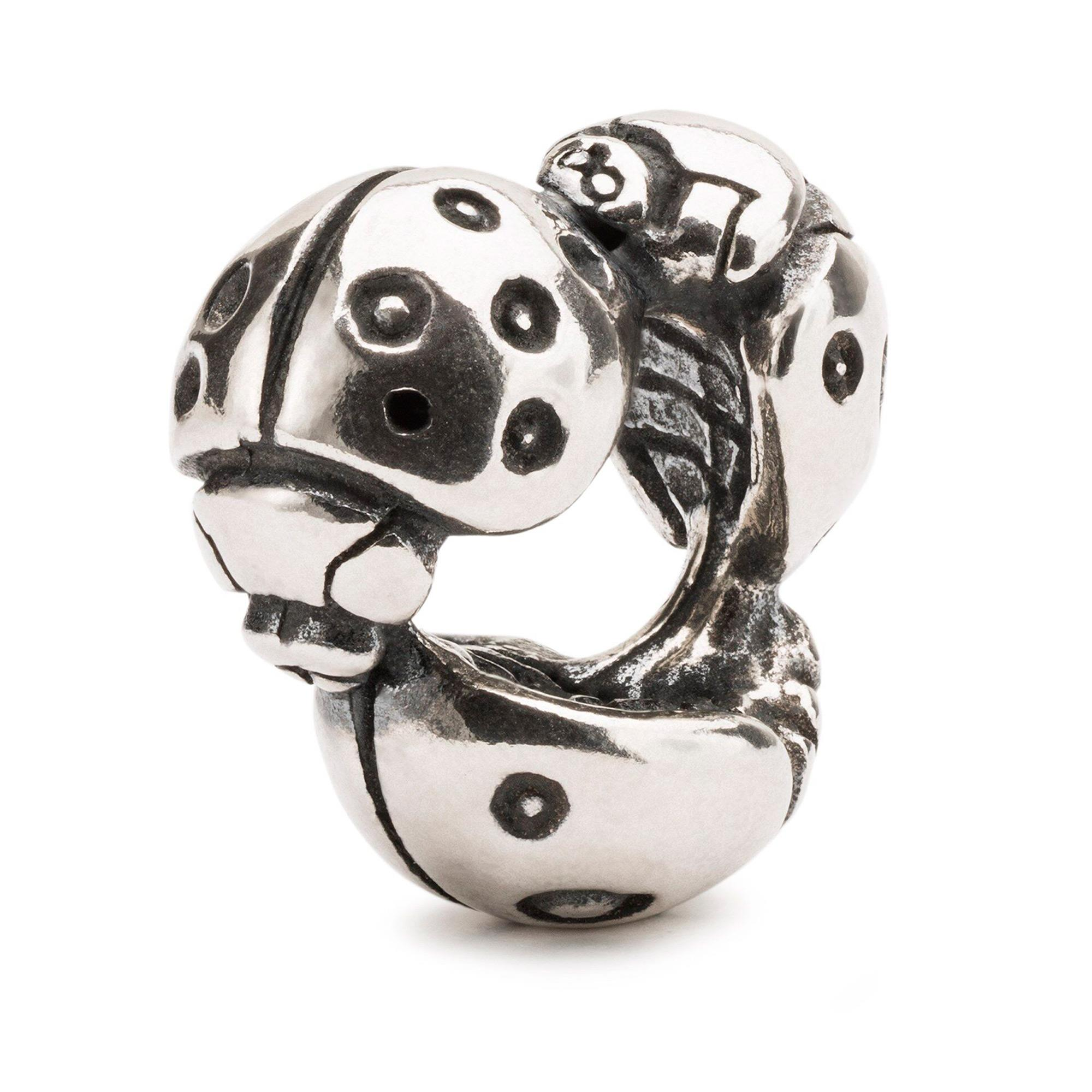 Bead Coccinelle Charm Argento Donna - TROLLBEADS