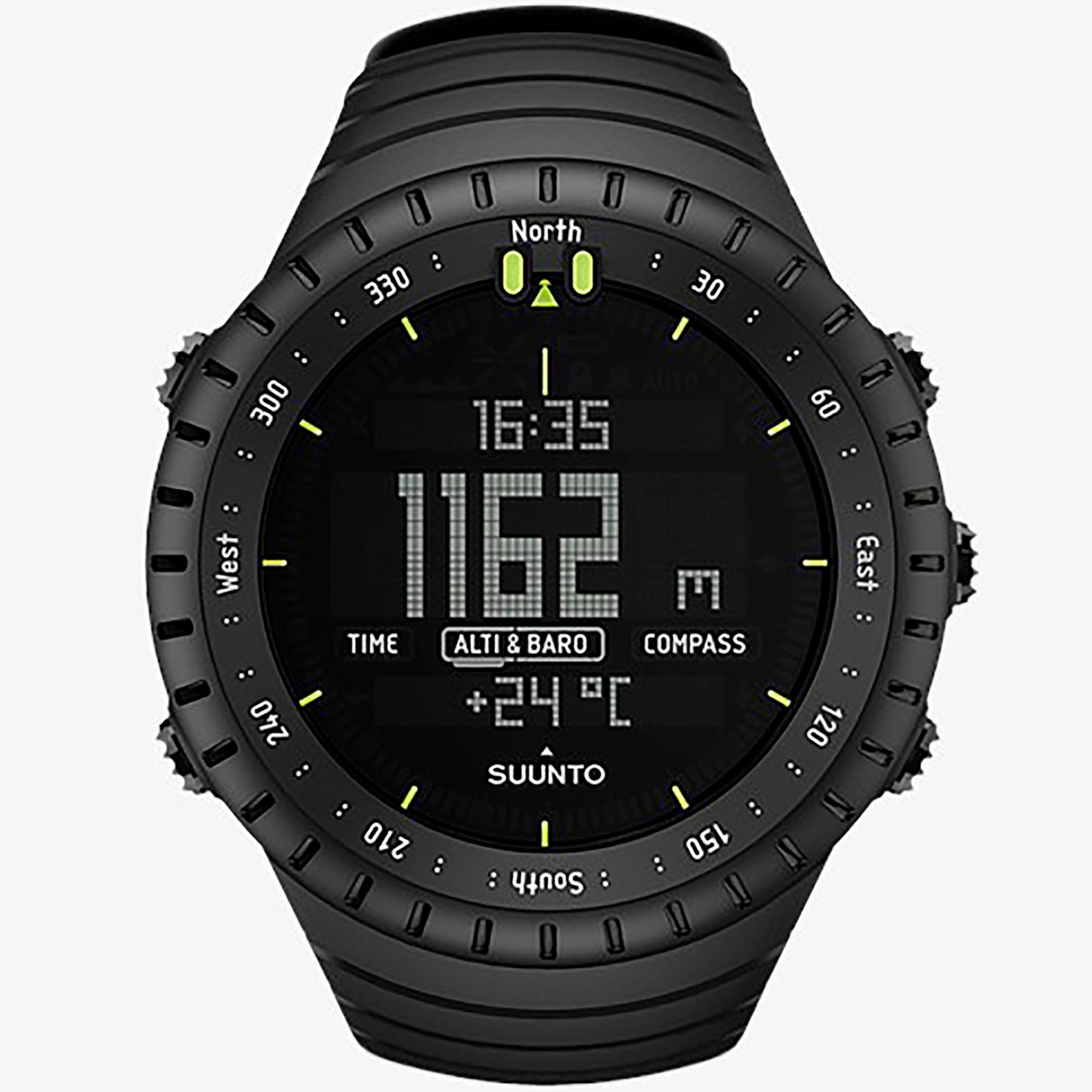 Smartwatch Suunto Core All Black Orologio Outdoor Unisex Nero - SUUNTO