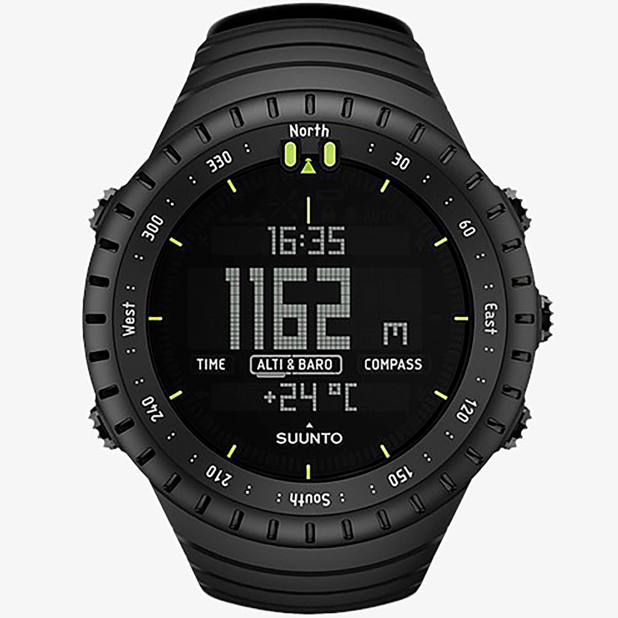 Smartwatch Suunto Core All Black Orologio Outdoor Unisex Nero - SUUNTO