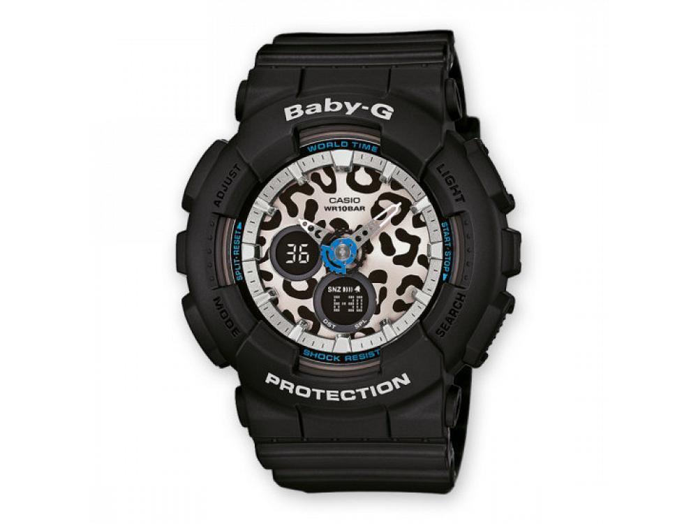 G-Shock Baby G Nero Anadigit Donna Gomma BA-120LP-1AER - CASIO