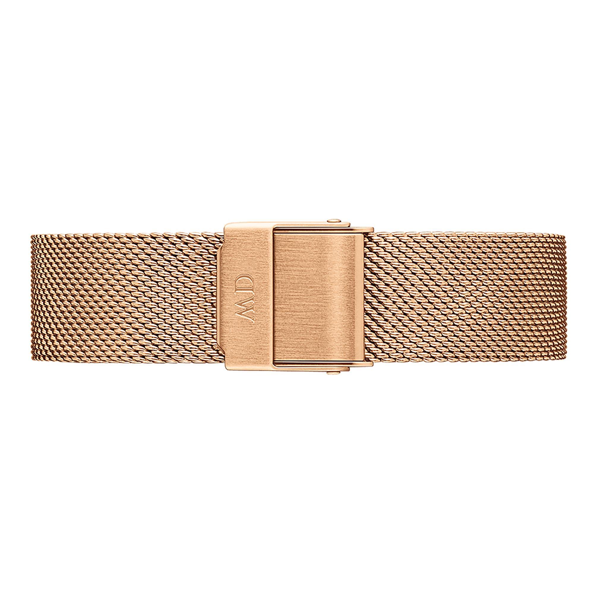 Cinturino Classic Petite Melrose Acciaio Oro Rosa Donna 14mm DW00200139 - DANIEL WELLINGTON