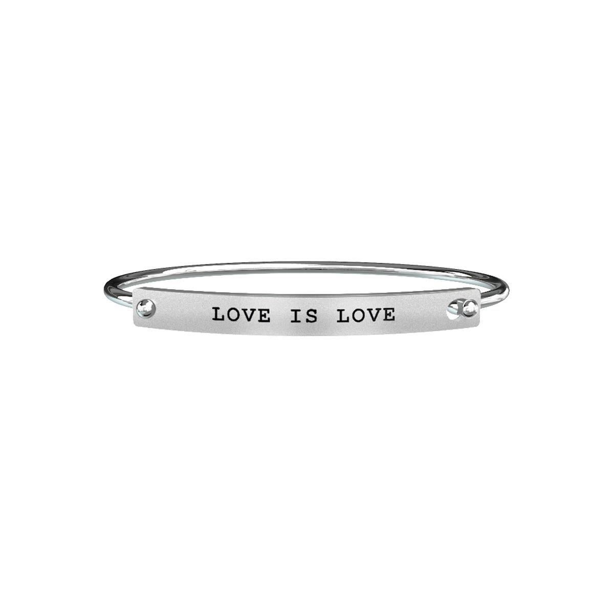 Bracciale Love Uomo Acciaio Love is Love – Love – 731183 - KIDULT